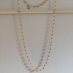 Anne Klein Gold tone necklace